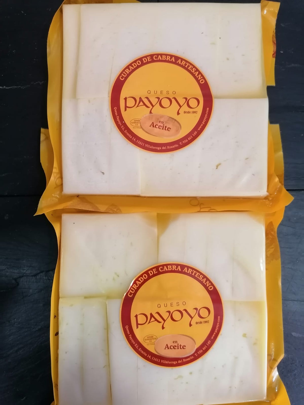 Local and Artisan Payoyo Cured Goats Cheese 500g