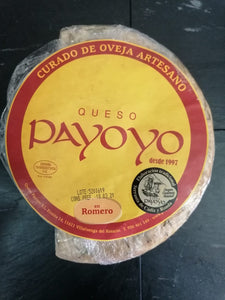 Local and Artisan Payoyo Cured Sheeps Cheese with Rosemary 1kg