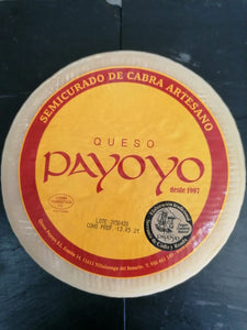 Local and Artisan Payoyo Semi Cured Goats Cheese 500g