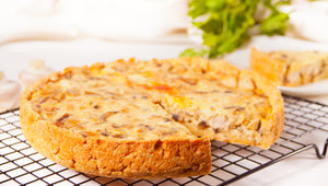 Whole Quiche Lorraine (gluten free)