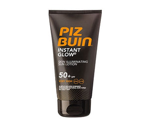 Piz Buin Instant Glow Skin Illuminating Sun Lotion SPF 50+ 150ml
