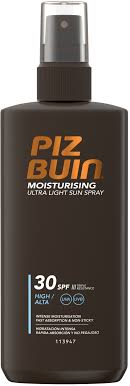 Piz Buin Moisturising Ultra Light Sun Spray SPF30 200ml