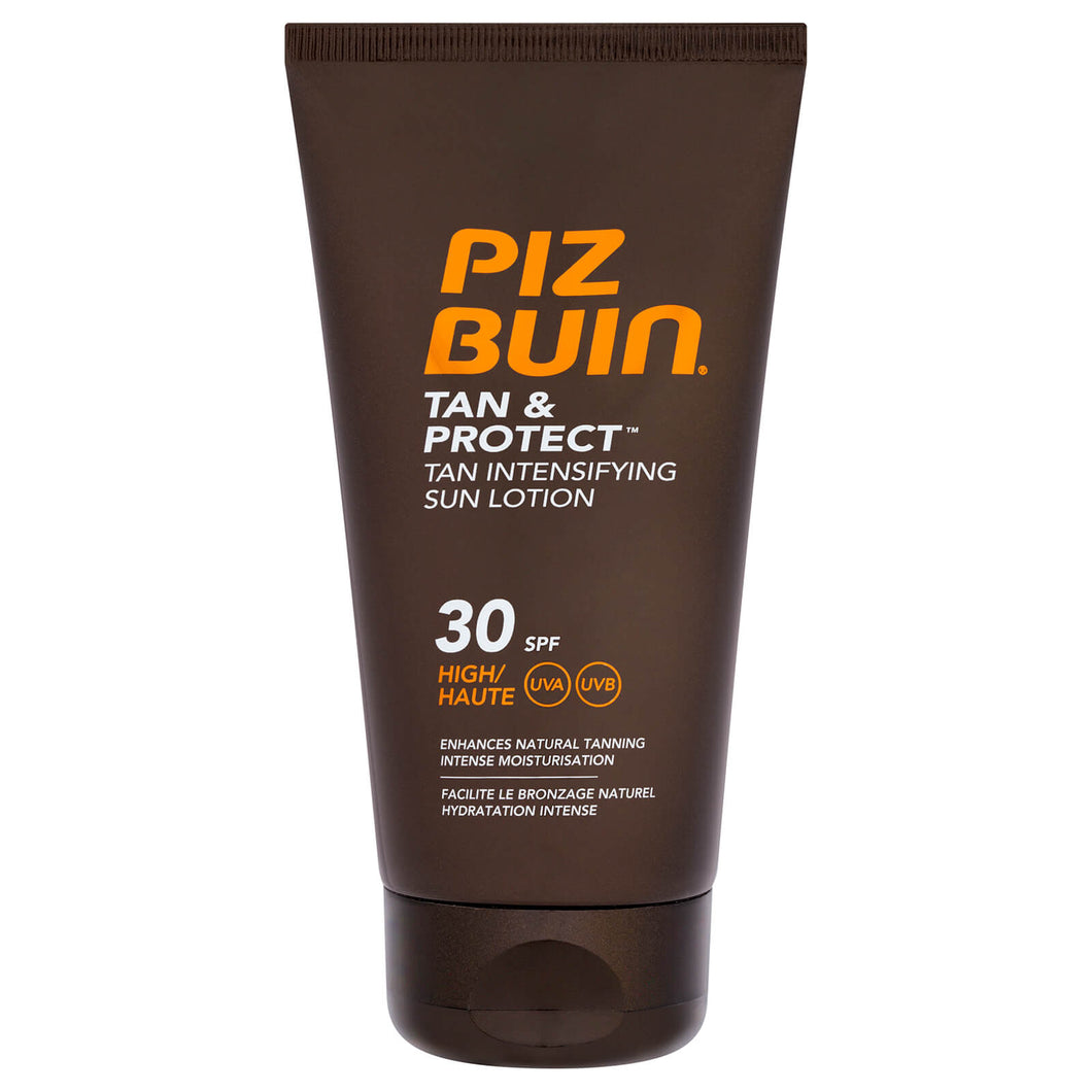 Piz Buin Tan & Protect Sun Lotion SPF30 150ml