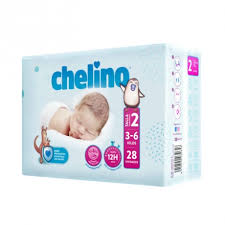 Chelino Nappies Size 2 3-6kgs 28 Pack