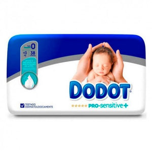 Dodot Nappies Size 0 <3kgs 38 Pack