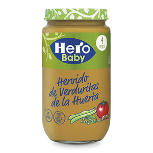 Hero Baby Food 4 Months Mixed Vegetables 235g