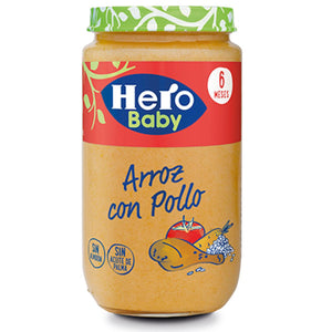 Hero Baby 6 Months Chicken Rice 235g