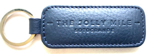 The Jolly Mile Black Leather Keyring