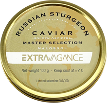 Load image into Gallery viewer, Extravagance Caviar - GOLDEN OSCIETRA (Master Selection) 250g