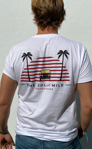The Jolly Mile T-shirt White