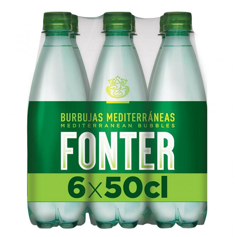 Fonter Sparkling Mineral Water 50cl 6 Pack