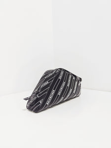 Car Shoulder Bag black/white