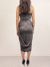 Laden Sie das Bild in den Galerie-Viewer, Dress Tiegan grey