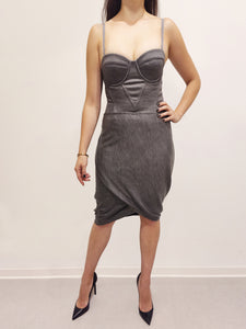 Dress Tiegan grey