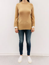 Laden Sie das Bild in den Galerie-Viewer, Pullover camel