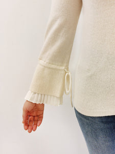 Pullover ivory