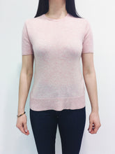 Laden Sie das Bild in den Galerie-Viewer, Pullover kurzarm pink