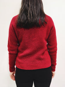 Pullover red