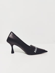Pumps black/white