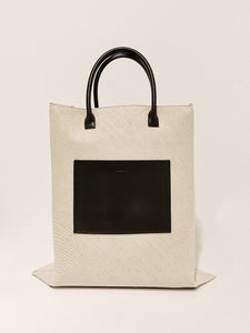 Standing Tote SM natural