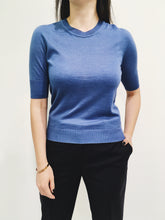 Laden Sie das Bild in den Galerie-Viewer, Pullover blue
