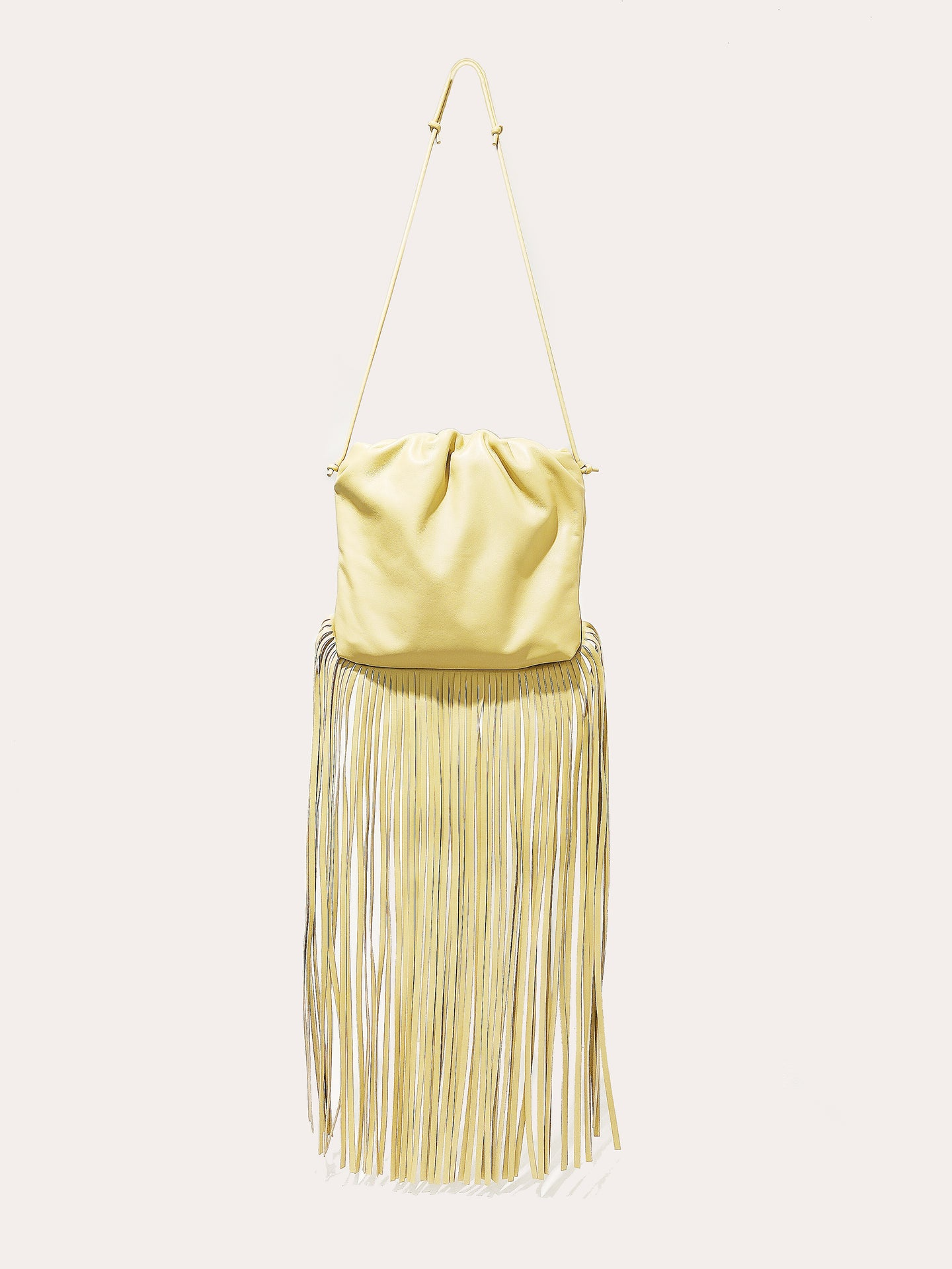 The Fringe Pouch tapioca