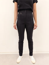 Laden Sie das Bild in den Galerie-Viewer, Trousers Pantalone black