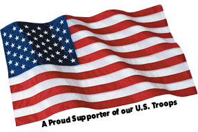 A Proud Supporter of our U.S. Troops