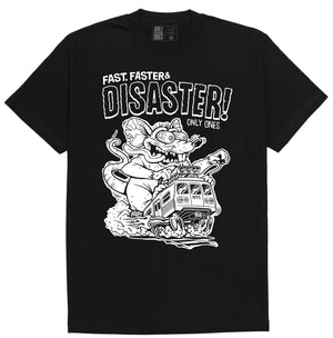 DISASTER TEE - BLACK