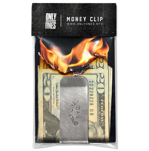 """HAPPY"" MONEY CLIP"
