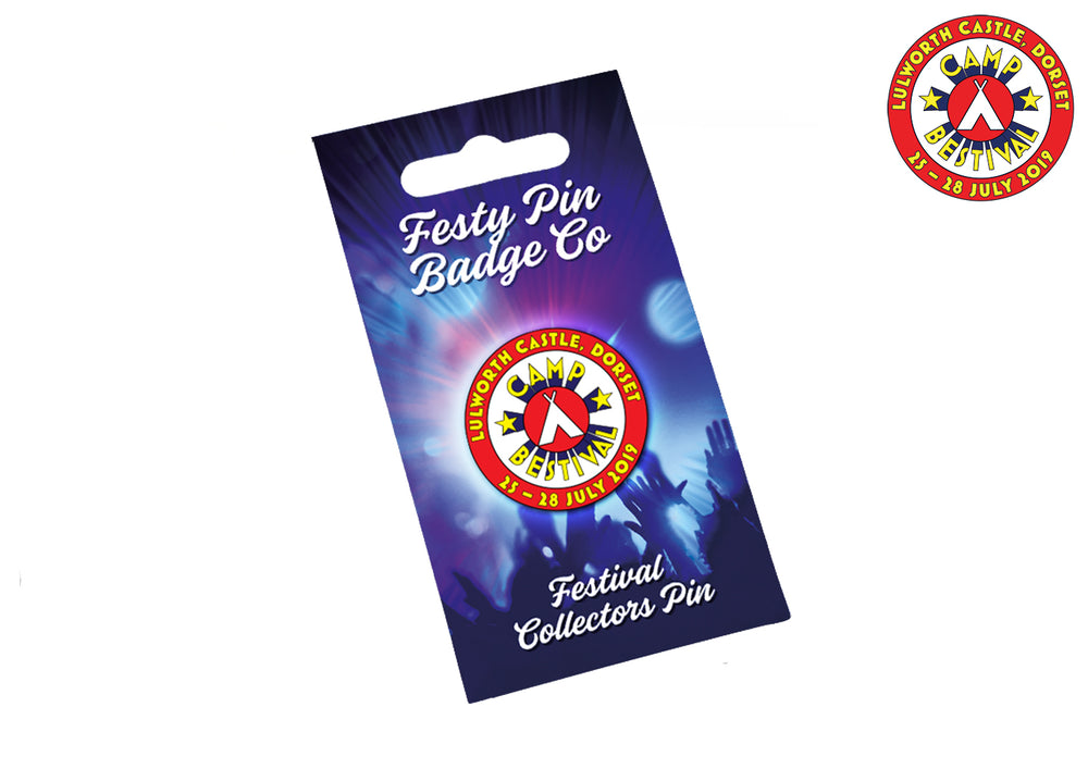 2019 Festy Pin Badge
