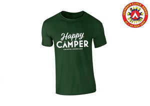 Happy Camper Green T-Shirt