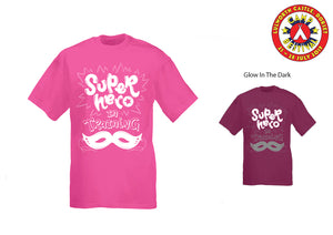 Super Hero Pink Kids T-Shirt