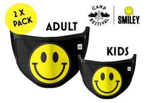 Camp Bestival x Smiley Face Cover Pack