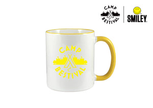 Camp Bestival x Smiley Mug