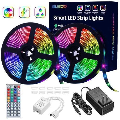 New RGB LED Strip Lights (Remote Control Included)