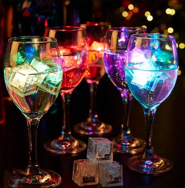 LED Water Flashing Ice Lights LED Ice Cubes