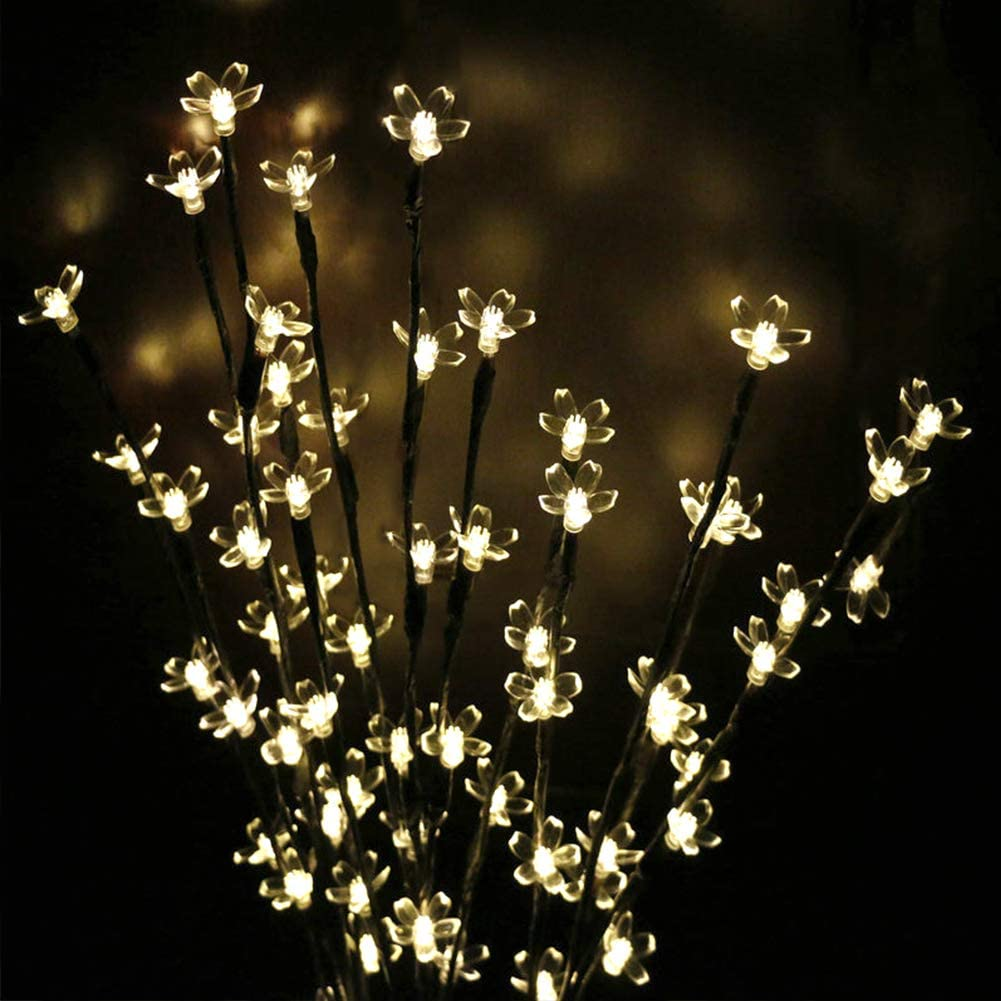 Solar Lamp Cherry Tree or Leaf(3 PCS & FREE SHIPPING)