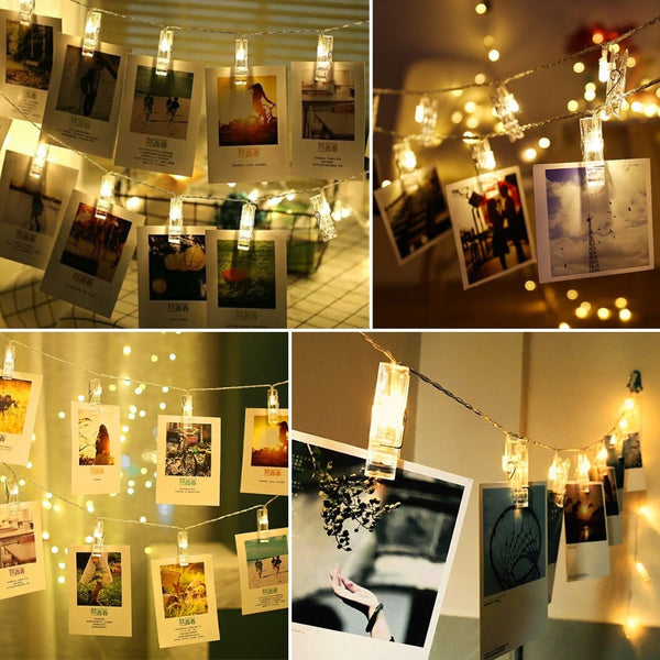 Photo Clip Lamp