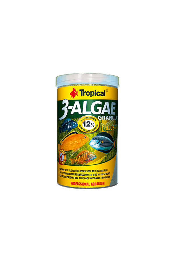 Tropical 3-Algae Granulat 100ml/38g  (2mm granulat)