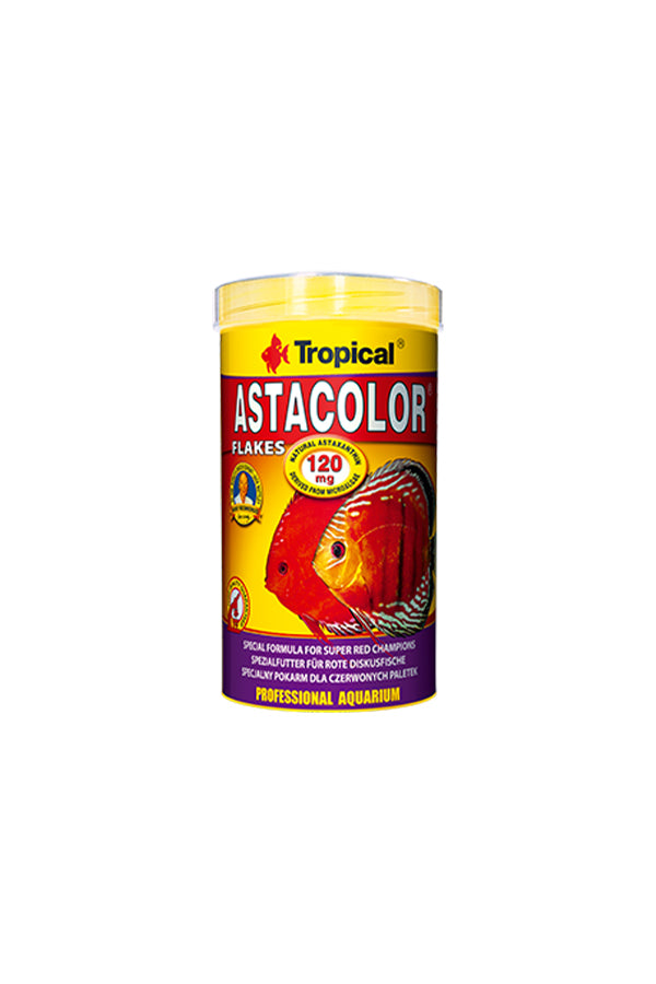 Tropical Astacolour- Natural Colour Enhancing Food for Discus 500ml/100g