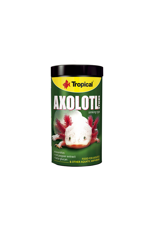 Tropical Axolotl Sticks 250ml/135g- (5mm sticks)