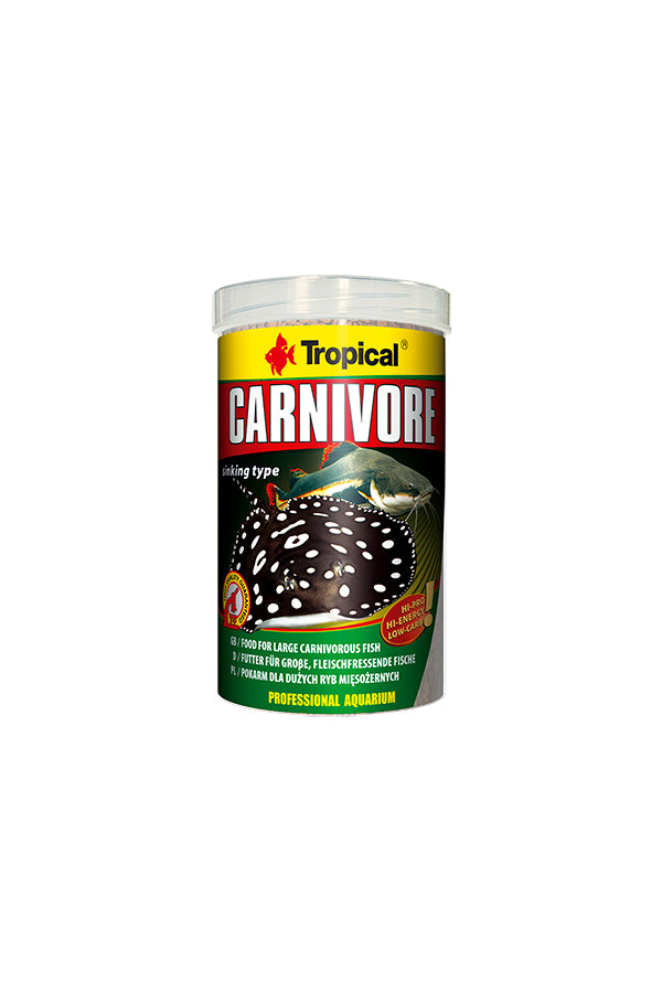 Tropical Carnivore- Tablets 1000ml/600g (5mm tablets)
