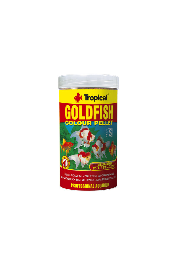 Tropical Goldfish Colour Pallett 1000ml/300g (1.5mm pallet)
