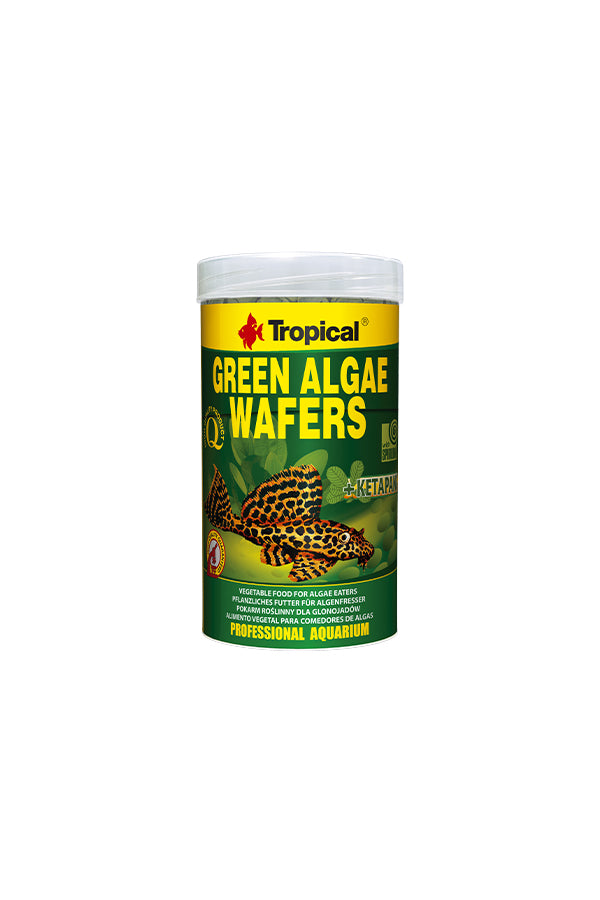 Tropical Green Algae Wafers 1kg Bag (10mm disc)