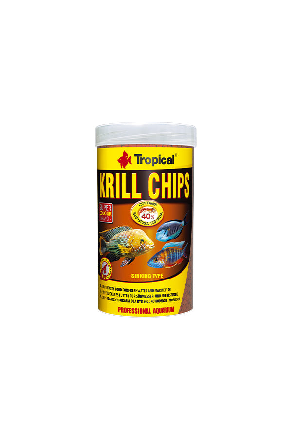 Tropical Krill Chips 1000ml/500g (2mm granulat)