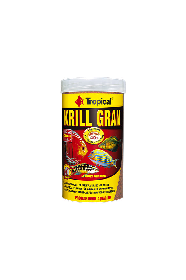 Tropical Krill Gran 1000ml/540g (1.2mm granulat)