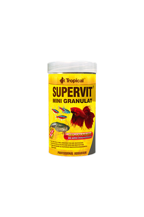 Tropical Supervit Mini Granulat 250ml/162.5g (0.5mm granulat)