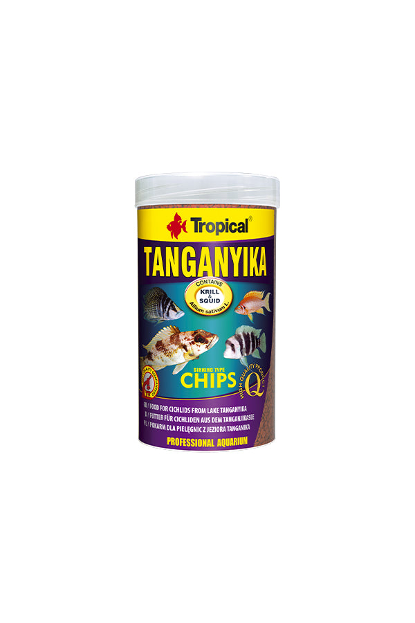 Tropical Tanganyika Chips 1000ml/520g (1.5mm chips)