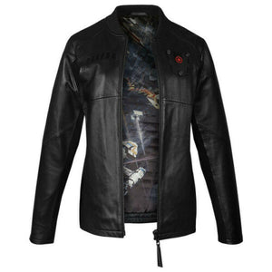 Musterbrand BLACK Star Wars Tie Pilot Limited Edition Leder Damenjacke